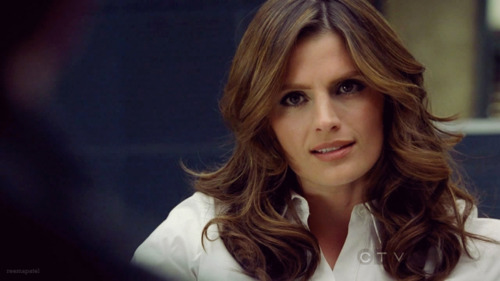 Castle Kate Beckett Hair Color